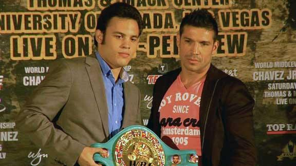 Sergio Martinez excited to face Chavez Jr.