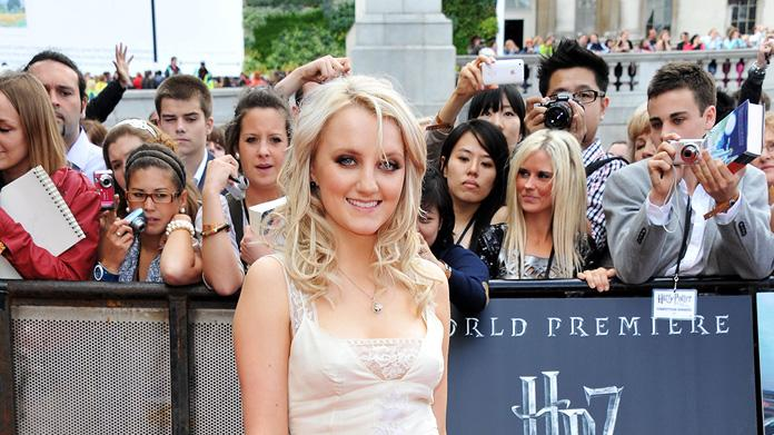 Harry Potter UK Premiere 2011 Evanna Lynch