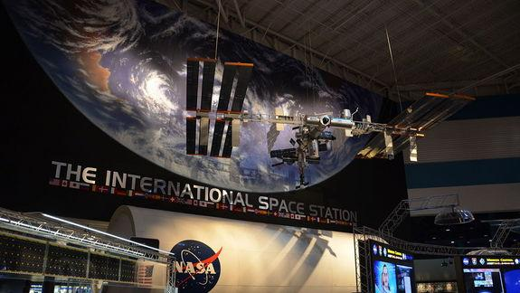 Space Station Lands in Houston in State-of-the-Art NASA Exhibit