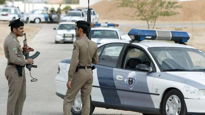"""Saudi police killed four """"terrorists"""" Saturday in a Shiite village in an operation to arrest the people who shot dead a soldier there on Sunday"""