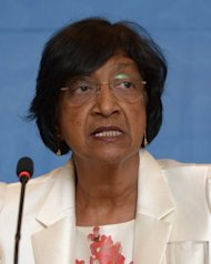 "UN High Commissioner for Human Rights, Navi Pillay, pictured in Jakarta, on November 13, 2012. Pillay last month stressed that ""an in-depth inquiry into one of the worst, but least understood and reported human rights situations in the world is not only fully justified, but long overdue,"" speaking about North Korea"