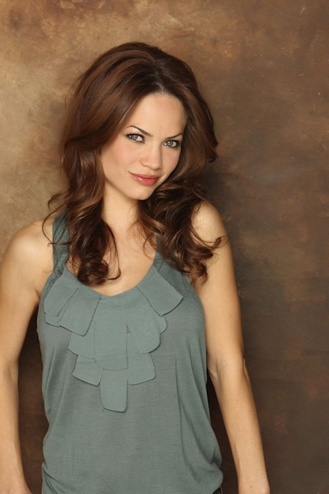 "Rebecca Herbst stars as Elizabeth Webber on ""General Hospital."""