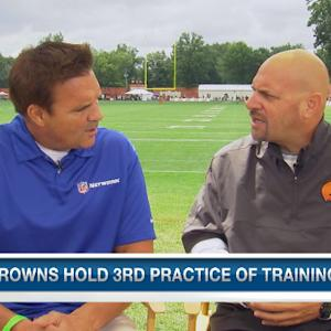 Cleveland Browns head coach Mike Pettine: Both QBs are off to a solid start