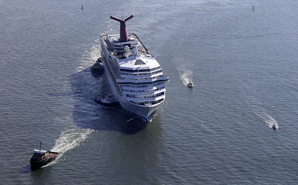 Carnival Won't Reimburse Coast Guard For Poop Cruise Rescue