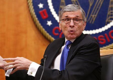 Federal Communications Commission (FCC) Chairman Tom Wheeler speaks at the FCC Net Neutrality hearing in Washington