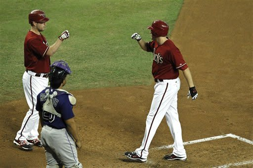 Unearned runs give Rockies victory over D-backs