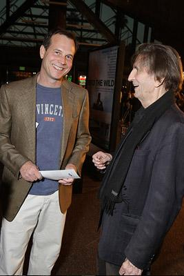 Bill Paxton and Harry Dean Stanton at the Los Angeles premiere of Paramount Vantage's Into the Wild
