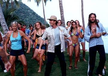 Front Row: Brittany Daniel , Erik Stolhanske and Bill Paxton in Broken Lizard's Club Dread