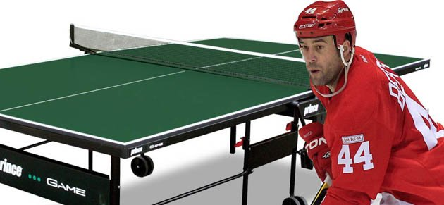 Todd Bertuzzi plays ping-pong cop vs. Predators | Puck Daddy - Yahoo! Sports