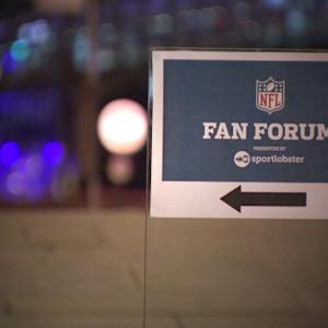 NFL stars attend fan forum in London