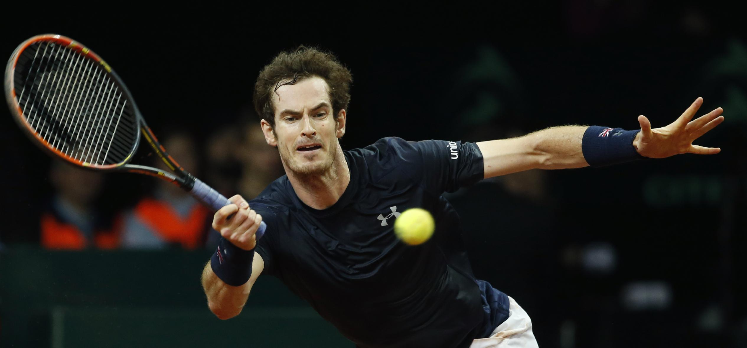 Britain and Belgium tied 1-1 after opening day in Davis Cup