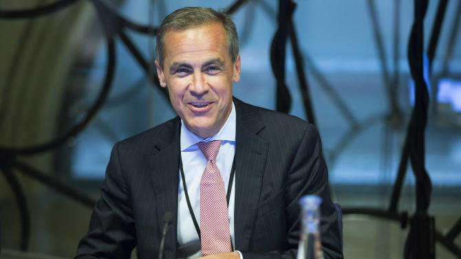 Bank of England's new governor starts work