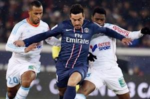 Paris Saint-Germain 2-0 Olympique de Marseille: Ibrahimovic caps fortunate victory