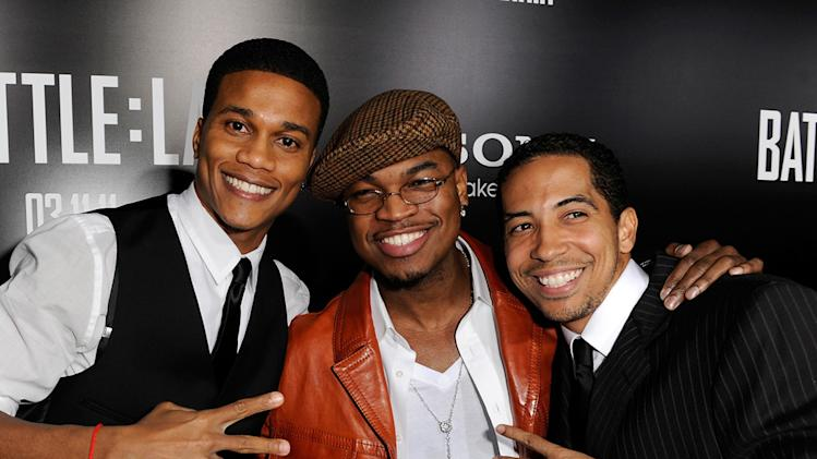 Battle Los Angeles 2011 LA Premiere Cory Hardrict Ne-Yo Neil Brown