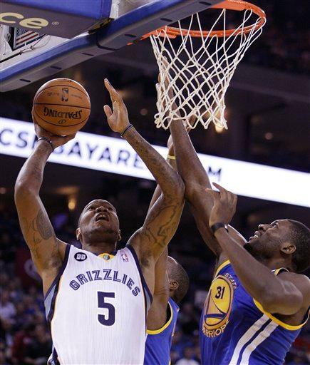 Grizzlies top Warriors 104-94 after Rush's injury