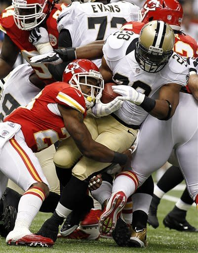 Saints drop to 0-3 after 27-24 OT loss to Chiefs