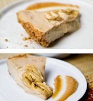 Vegan 'Banilla' Cream Pie With Walnut Crust
