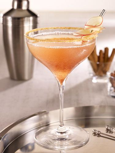 Apple Spiced Martini