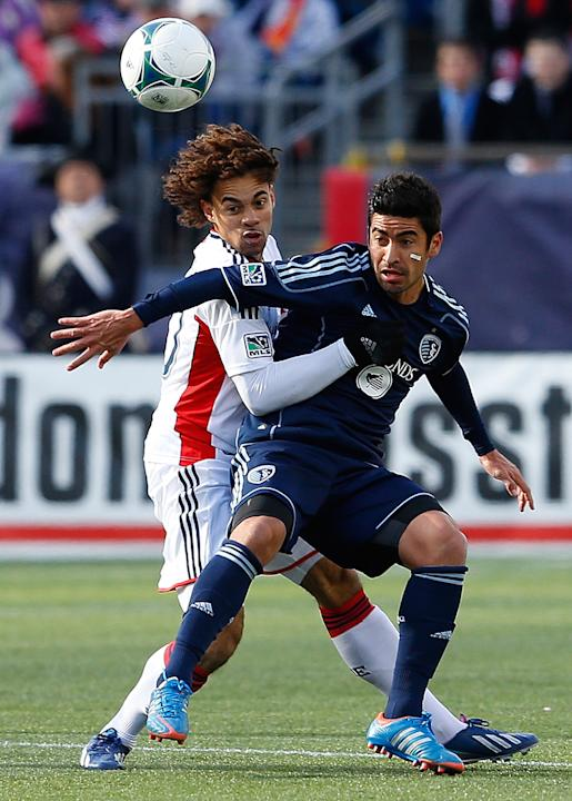 Sporting Kansas City v New England Revolution