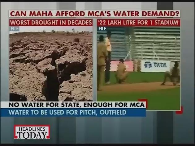 Can Maharashtra government afford MCA's water demand for IPL matches?