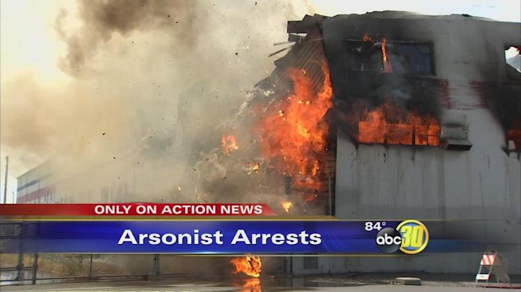 17 arrests made in Fresno arson cases