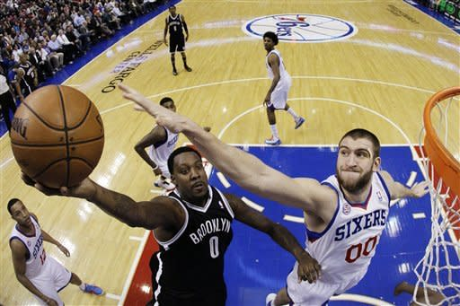 Evans, Williams lead Nets to 109-89 win over 76ers