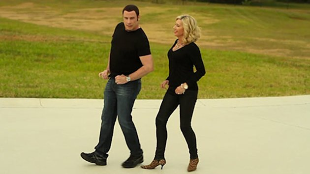 Travolta, Newton-John Team Up (ABC News)