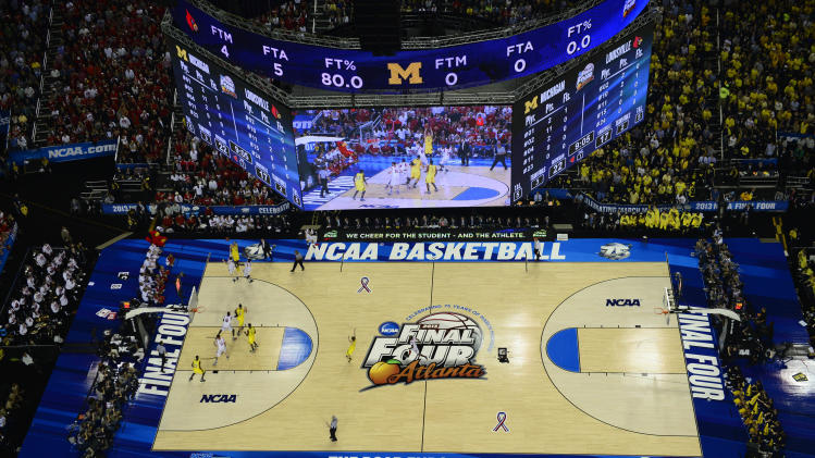 NCAA Basketball: NCAA Tournament-Michigan vs Louisville