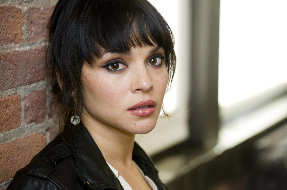 "In this April 9, 2012 photo, singer Norah Jones poses for a portrait in New York. Jones' latest album,  ""Little Broken Hearts,"" was released on May 1.  (AP Photo/Charles Sykes)"