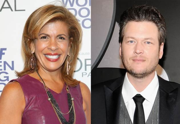 Hoda Kotb, Blake Shelton --&nbsp;&hellip;