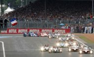 The Le Mans 24 Hours race