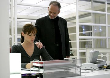 Jennifer Garner and Ron Rifkin ABC's Alias