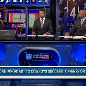 More vital to the Dallas Cowboys success: Offense or defense?
