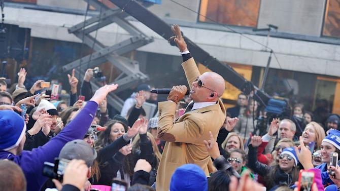 """Pitbull Performs On NBC's """"Today"""" Annual Thanksgiving Week Of Concerts"""