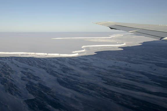 Antarctica's Ice Shelves Are Thinning Fast