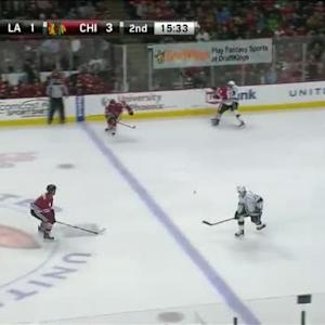 Andrew Shaw Hit on Nick Shore (04:30/2nd)