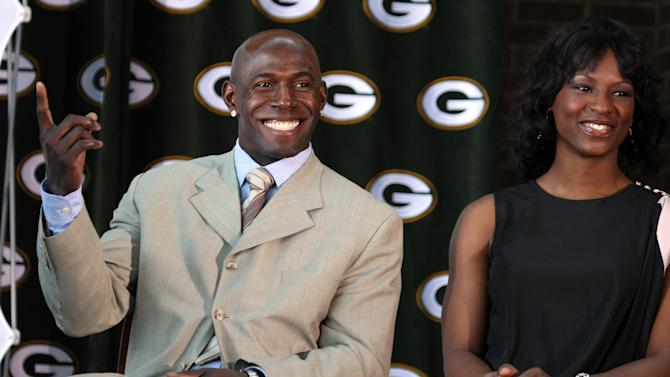 NFL: Green Bay Packers-Donald Driver retirement event