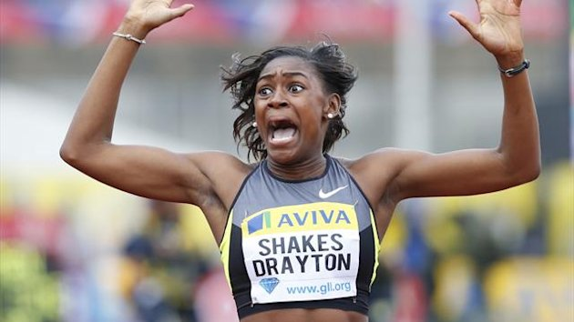 Perri Shakes-Drayton of Britain (Reuters)