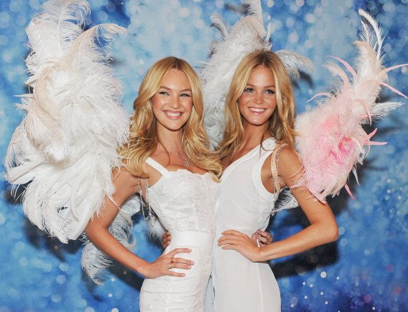 Candice Swanepoel dan Erin Heatherton