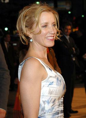 Felicity Huffman at the Hollywood premiere of Paramount Pictures' Sahara