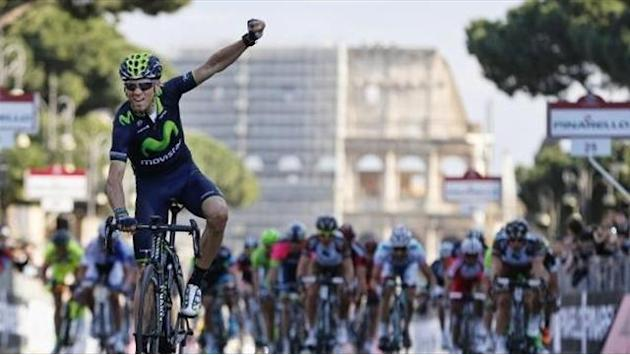 Roma Maxima - Valverde hangs on for dramatic Roma Maxima win