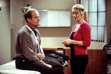 "Kelsey Grammer and Charlotte Ross NBC's ""Frasier"" Frasier"