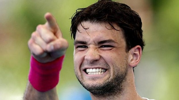 Grigor Dimitrov of Bulgaria (Reuters)