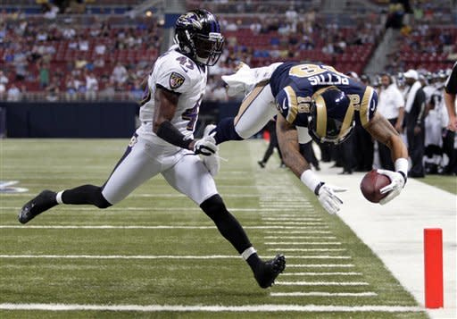 Rams dominate early in 31-17 victory over Ravens