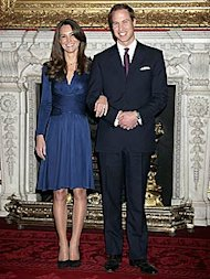 Kate Middleton and Prince William. Photo: Chris Jackson/Getty