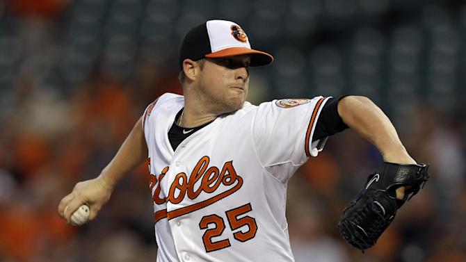 Norris, Davis lead Orioles to 6-3 win over Astros