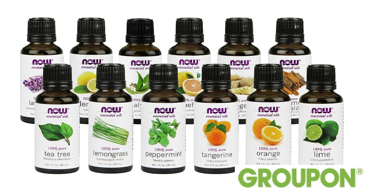 Now Foods Essential Oils 12-Pack for $69.99