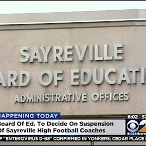 Board Of Education To Decide On Suspension Of Sayreville High School Football Coaches
