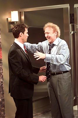 Eric McCormack and Gene Wilder on NBC's Will and Grace 