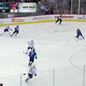 Semyon Varlamov Save on Andre Benoit (05:16/1st)